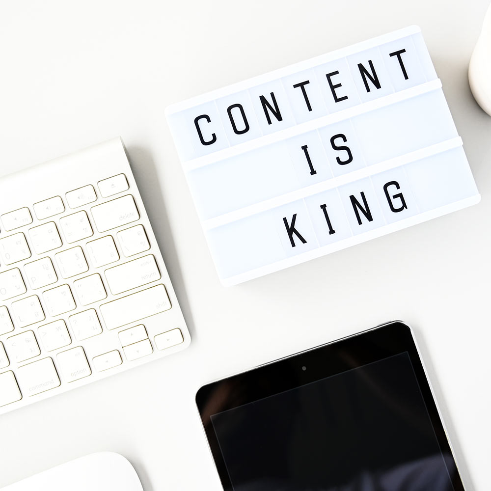 Content Marketing Betreuung